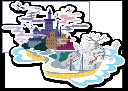 むしバイキンの城